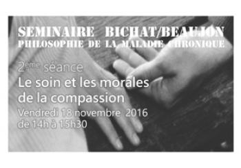 « Le soin et les morales de la compassion »
